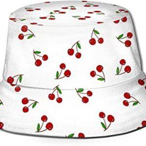 New Cherry Bucket Hat